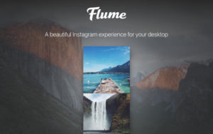 Flume for Instagram