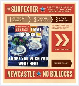 Nobollocks Subtexter App