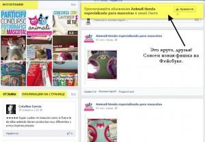 Новый дизайн бизнес страниц на Фейсбук - Отзывы