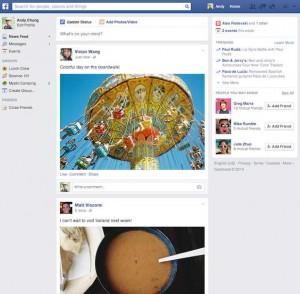 Новый дизайн новостной ленты на Фейсбук - это цветочки. Грядет радикальный редизайн страниц!