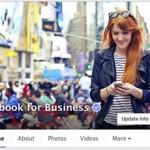 Новый дизайн страниц на Фейсбук - обложка
