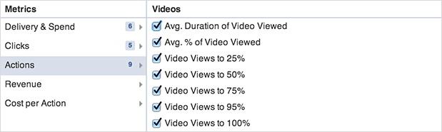 Статистика видео на Фейсбук 3