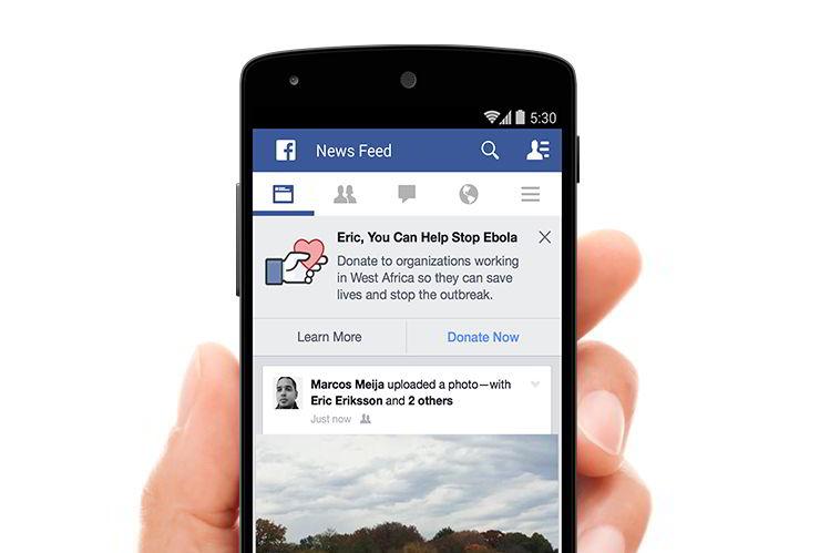Фейсбук в борьбе с эпидемией Эбола в Африке