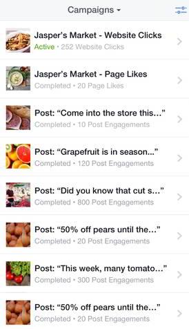 Фейсбук запустил менеджер рекламы для iOS - статистика