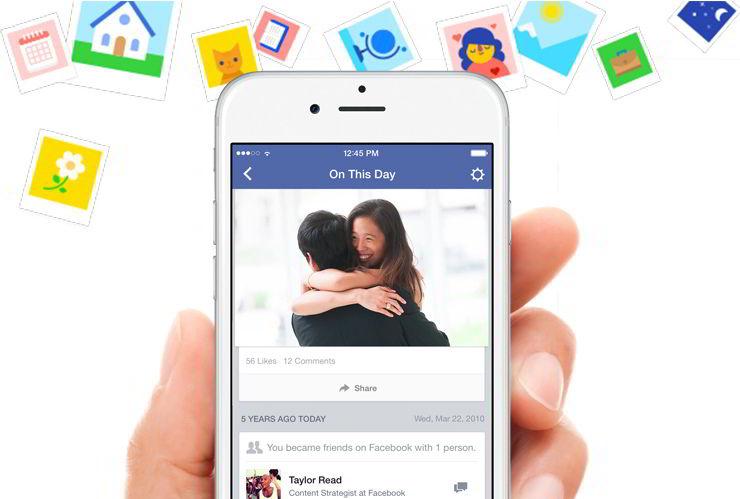 Новая фишка на Фейсбук - функция в этот день - миниатюра