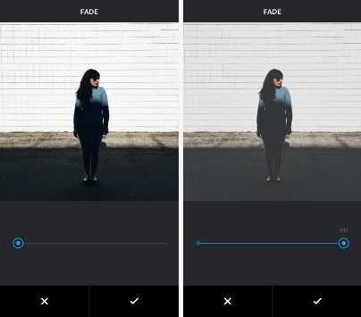 Обесцвечивание фотографий в Инстаграм