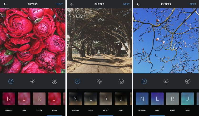 Три новых фильтра в Инстаграм