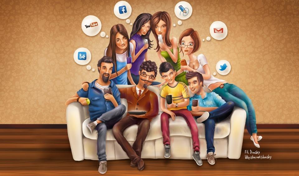 10 причин по которым мы любим социальные сети - миниатюра