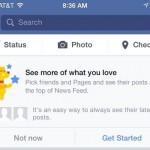 Как выбрать, какие публикации видеть в ленте новостей в Фейсбук 1