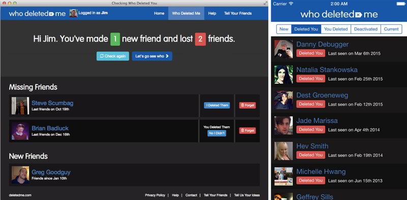 Как узнать, кто из друзей удалил меня в Фейсбук