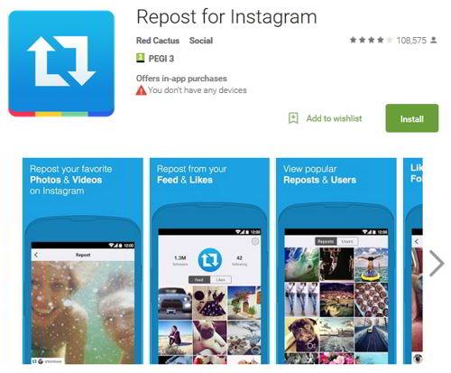 Как сделать репост в Инстаграм - Repost for Instagram