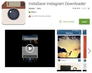 Как сохранить фотографию из Инстаграм - InstaSave