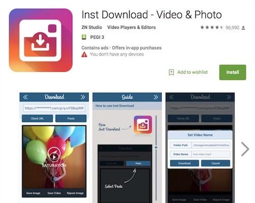 Как сохранить фотографию из Инстаграм iOS- InstaSave