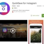 Приложение QuickSave for Instagram