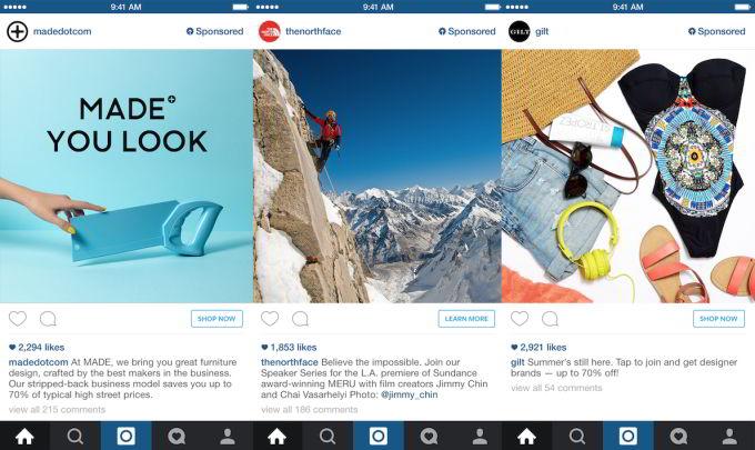 Инстаграм запускает рекламу 30 сентября и добавляет новые функции