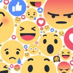 Фейсбук запускает реакции на публикации