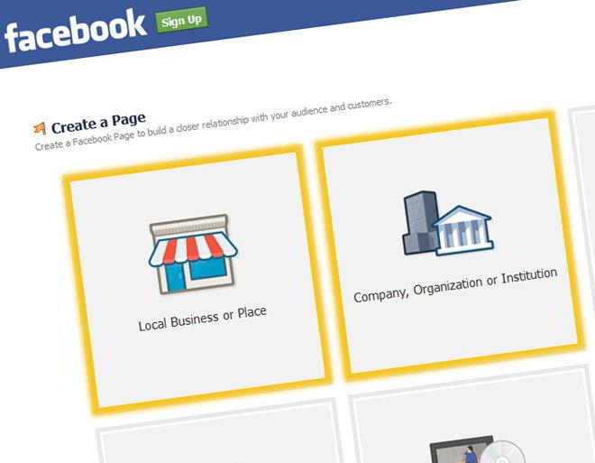 Как создать новую страницу в Фейсбук