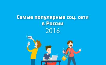 Самые популярные социальные сети в мире 2016