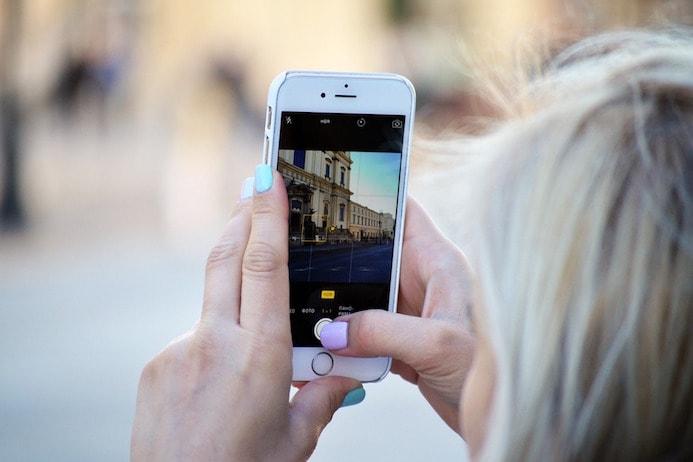 как в инстаграм добавить фото с телефона
