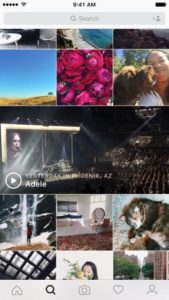 Видео актуальных событий, которые проходят поблизости - Инстаграм