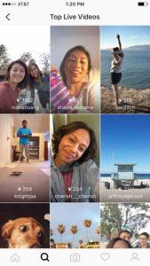 Прямые трансляции в Инстаграм