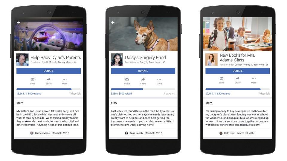 Сбор денежных средств для частных нужд в Фейсбук