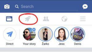 Фейсбук запускает вторую ленту новостей
