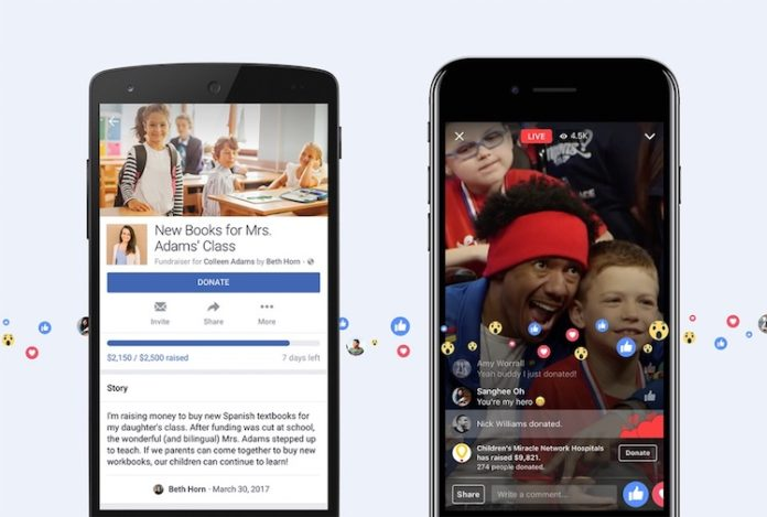 Фейсбук запускает новые возможности для сбора денег на добрые дела прямо в соц. сети