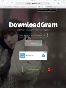 Как сохранить фото или видео с Инстаграм с помощью DownloadGram