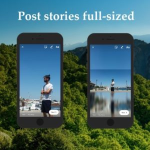 Приложение No Crop Story for Instagram