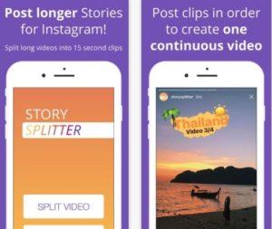 Приложение Story Splitter