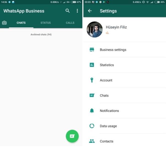 Подтверждённые, проверенные и бизнес аккаунты в Whatsapp