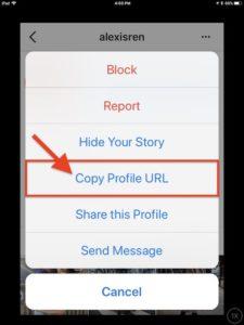 Как сделать ссылку на фото в инстаграм с