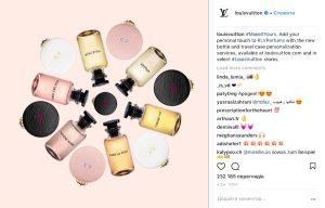 Примеры использования хэштегов в Инстаграм - lvparfums