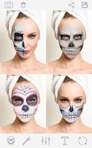 Приложение к празднику Хэллоуин - Halloween Makeup