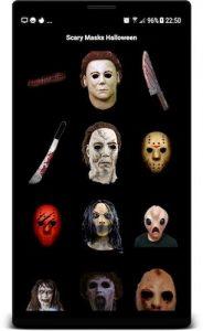 Приложение Scary Masks Photo Editor Halloween Horror