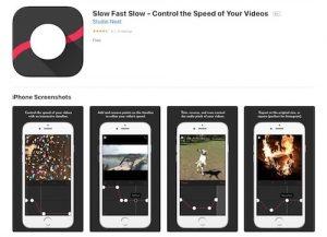 Приложение iOS для замедления видео - Slow Fast Slow